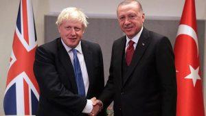 """Erdoğan : """"İngiltere Başbakanı Boris Johnson'a milletim adına teşekkür ediyorum"""""""