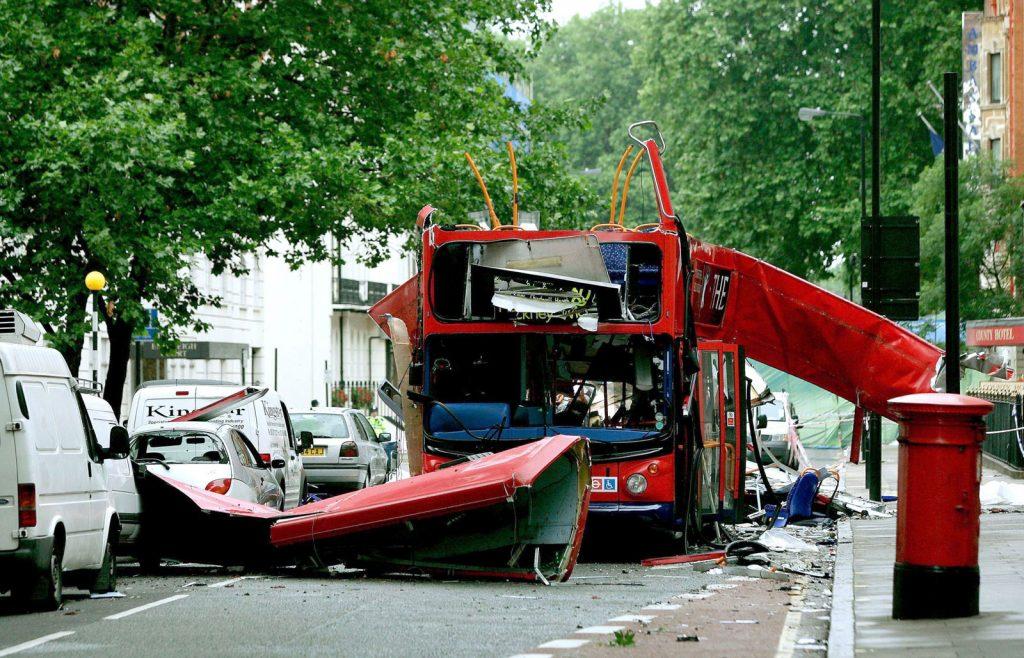 Tarihte bugün 7 Temmuz 2005 Londra'da bomba saldırıları