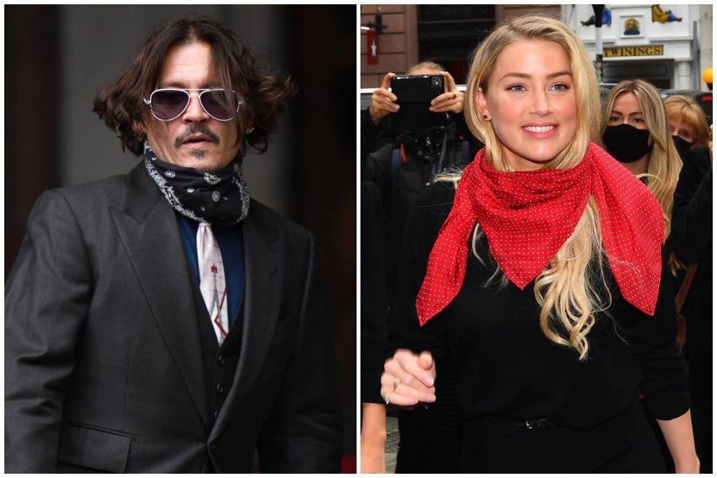 """Johnny Depp ile Amber Heard'ün iftira davası Londra""""da başladı"""