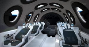 İngiltere'de ilk ticari uzay hava yolu mekiğinin iç tasarımı tanıtıldı