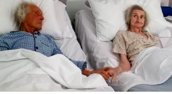 İngiltere'de 69 yıllık evli çifti koronavirüs değil, kanser ayırdı
