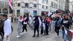 "Londra'da ""Yemen"" protestosu"