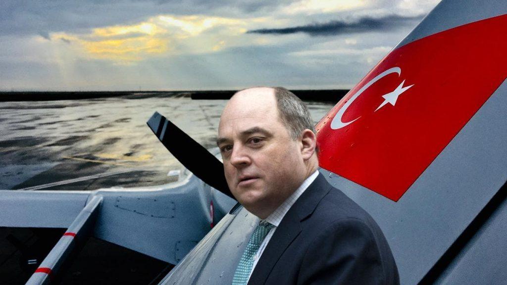 İngiltere Savunma Bakanı, Türk İHA'larını yere göğe sığdıramadı