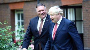 Başbakan Johnson ve ABD Dışişleri Bakanı Pompeo, Çin ve Orta Doğu'yu görüştü
