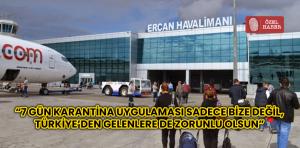 İngiltere'den KKTC'ye yolculuk yapan Kıbrıslı Türkler, karantina sürecini değerlendirdi