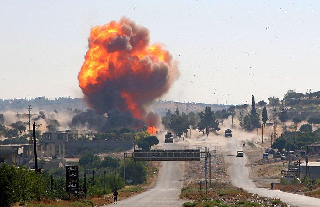 Suriye'de Rusya – Türkiye ortak devriyesine bombalı saldırı
