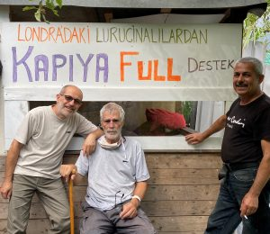 Support from London to Luricina