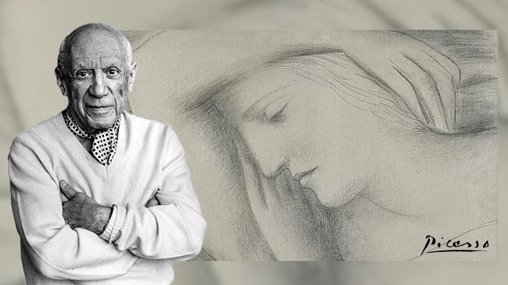 Picasso'nun gizlediği sevgilisi ait portre ilk kez açık artırmaya çıkacak