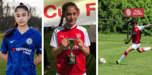 """""""I want to be the first Turkish Cypriot in England women's national football team"""""""