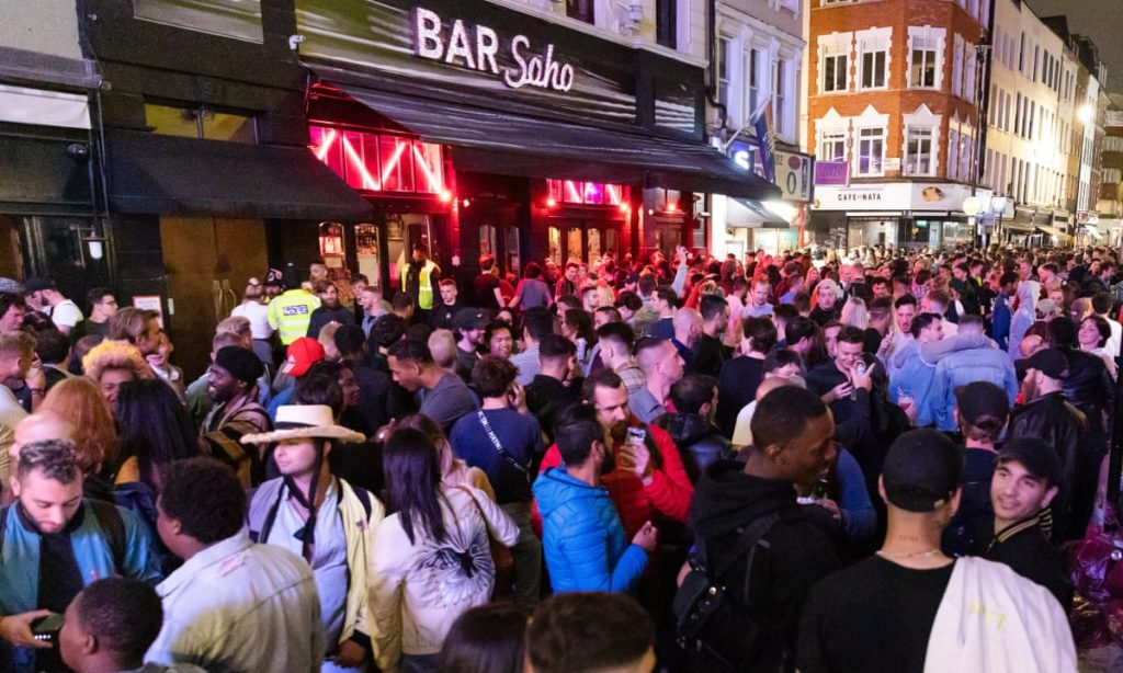 'Crystal clear' drunk people can't socially distance, says Police Federation