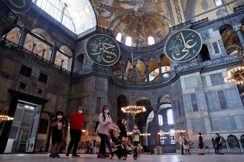 Istanbul's iconic Hagia Sophia to be turned back into mosque