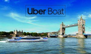 Uber'den yeni hizmet: Londra'da tekne turu