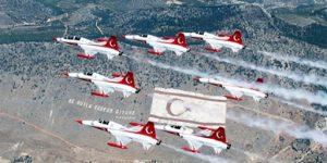 Türk Yıldızları yarın KKTC semalarında