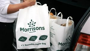 Morrisons considers getting rid of all 'bags for life' for paper