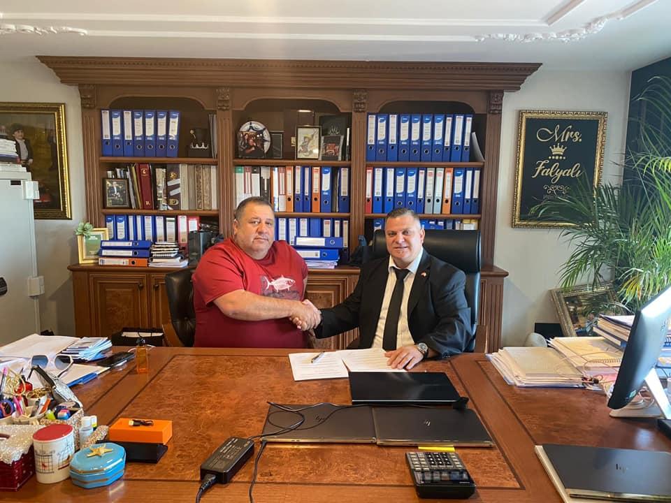 TTFF'nin 2020-2021 yılı ana sponsoru Falyalı Group oldu