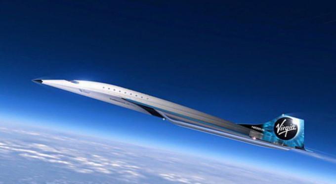 Virgin Galactic'ten sesten 3 kat hızlı giden süpersonik jet