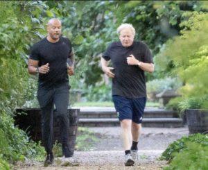 Boris Johnson, Aşk Adası sunucusunun kişisel antrenörünü işe aldı