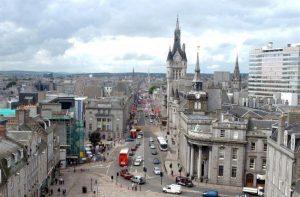 Aberdeen'da kısmi karantina