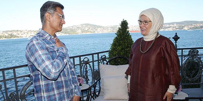 Emine Erdoğan, ünlü aktör Aamir Khan'ı kabul etti