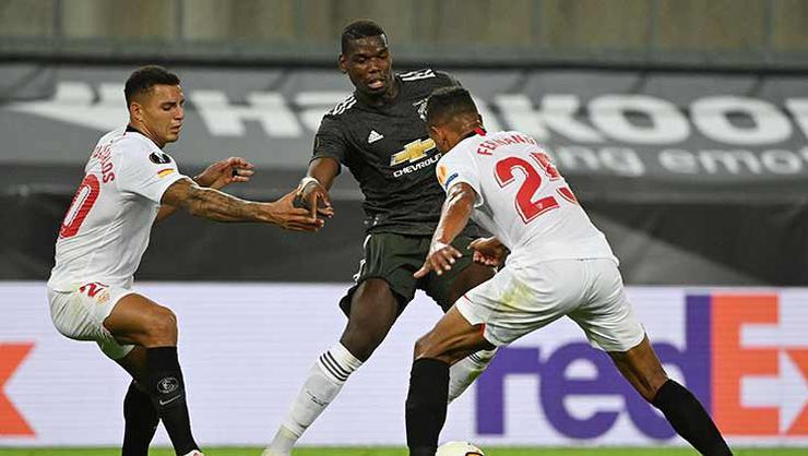 Sevilla, İngiliz devi Manchester United'ı eleyerek finale çıktı