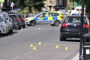 Night of bloodshed as five men shot across London