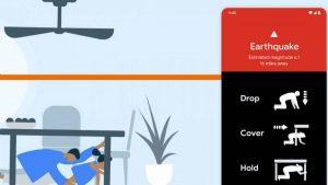 Google duyurdu: Android Android depremi ölçebilecek
