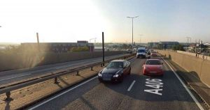 A406 North Circular: 'Women falls from height'