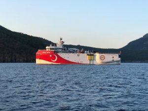 Oruç Reis gemisi yeniden Akdeniz'de