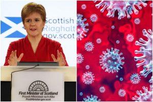 İskoçya'da vaka sayasında son üç ayda en yüksek günlük artış