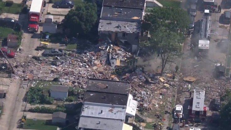 ABD'nin Baltimore kentinde şiddetli patlama