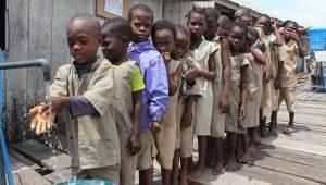 818 milyon öğrencinin okulunda el yıkama imkanı yok