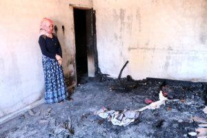 Cani baba çocukları uyurken evi ateşe verdi