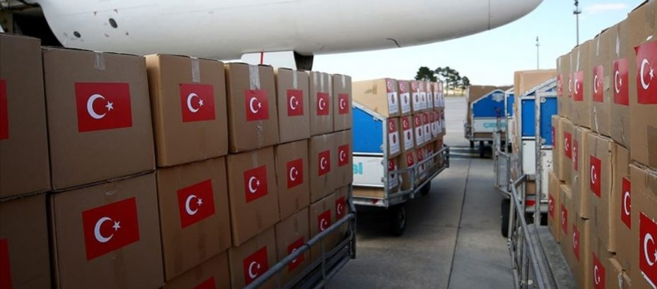 Medical aid from Turkey is being sent to North Cyprus
