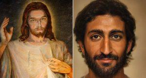 Yapay zekayla İsa'nın portresi oluşturuldu