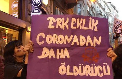 'Erkeklik öldürüyor; İstanbul Sözleşmesi yaşatır'