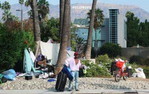 Amerikan rüyası Hollywood'da evsiz sayısı artıyor