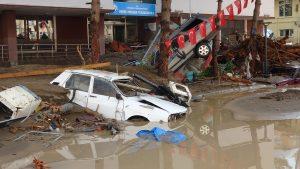 Giresun: Sel felaketinde ikisi asker en az yedi kişi hayatını kaybetti, 10 kişi kayıp
