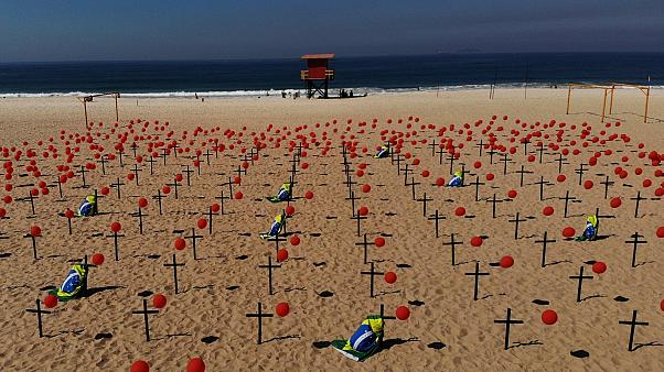 Brezilya'da can kayıplarının sayısı 100 bini aştı
