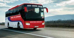 Hindistan'dan İngiltere'ye otobüs seferi başlıyor
