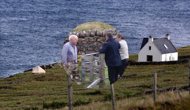 Başbakanı Boris Johnson'ın aşırı mütevazi tatili