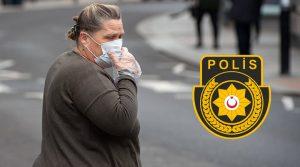 KKTC Polisi: Sokağa çıkarken 'maske' takmak zorunlu