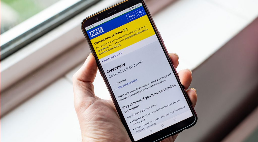 Re-designed NHS contact-tracing app beings new trail