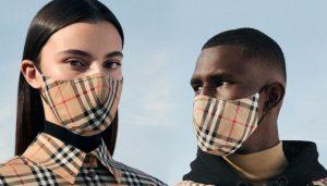 İngiliz moda devi Burberry'den koronavirüs maskesi