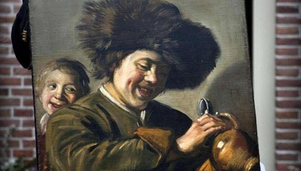 Frans Hals'a ait 'İki gülen çocuk' tablosu üçüncü defa çalındı