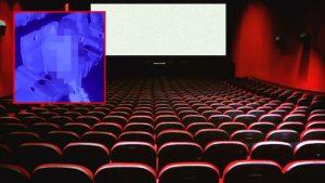 İngiltere'de bir çift, sinemada ilişkiye girerken kameralara yakalandılar