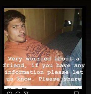 Enfield'de kayıp bir genç aranıyor