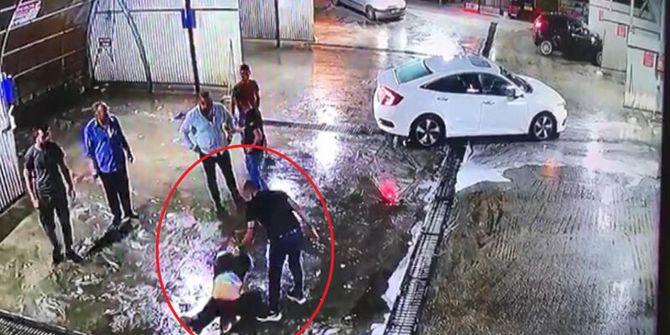 Kan donduran olay: Dövüp araçtan attılar, başka bir araç çarptı