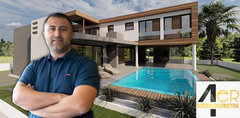Kuzey Kıbrıs'ın başarılı inşaat şirketi Dörter, kaliteli ve güvenli konutlar sunmaya devam ediyor