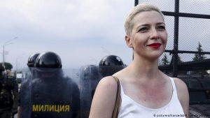 """Belaruslu muhalif lider Kolesnikova: """"Başıma çuval geçirip ülke dışına çıkarmaya çalıştılar"""""""
