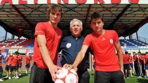 Cengiz ve Çağlar Leicester City'de buluştu